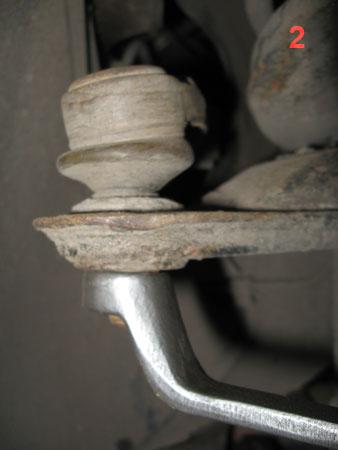 Замена рулевого наконечника на нексии